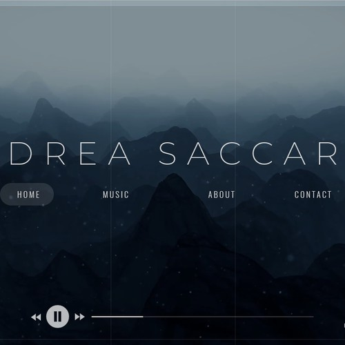 Artist website music industry