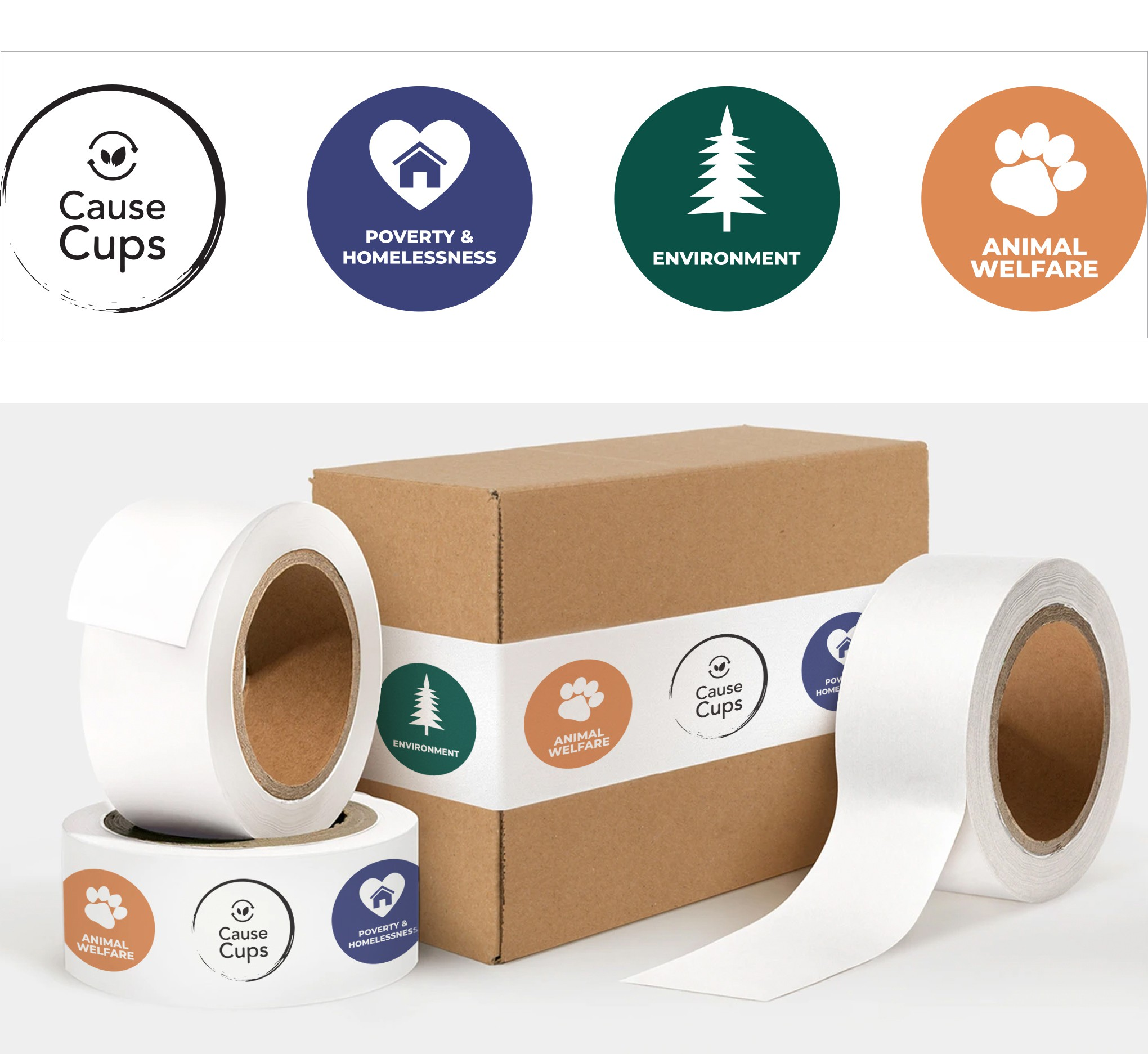 Design for Packing Tape