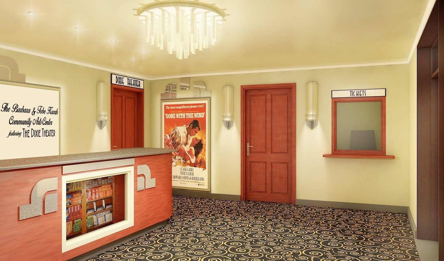 Historic Theater Renovation Renderings