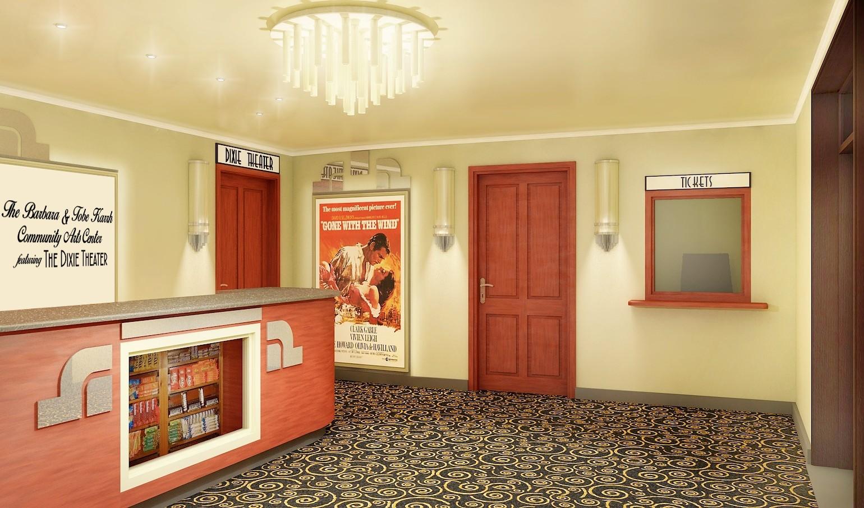 历史剧院整修渲染