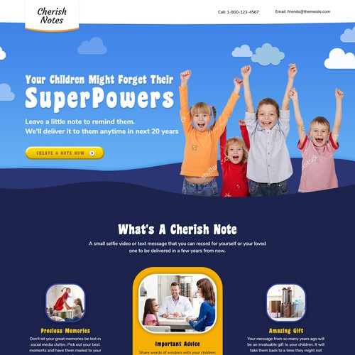 Children Web Design