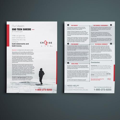Flyer Concept for chooselife.org