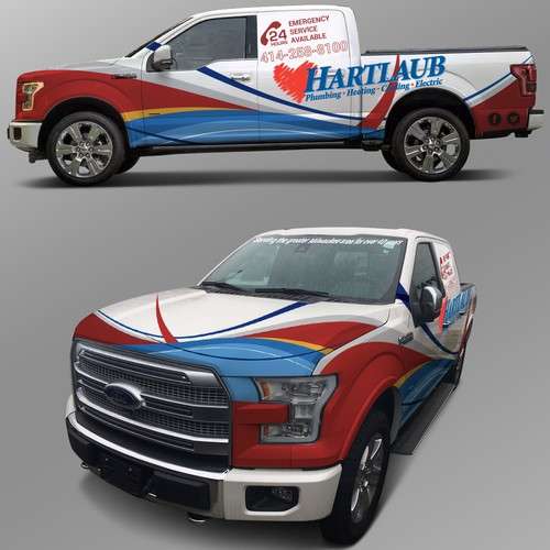 Want sweet truck wraps- Use MY LOGO