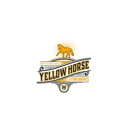 Logo for Yellow Horse Stoneworks