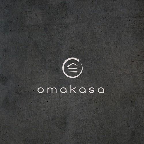 Omakasa logo design