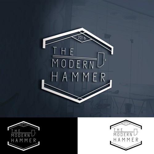 The Modern Hammer- Logo design