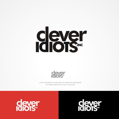 CLEVER IDIOT AWESOMELOGO