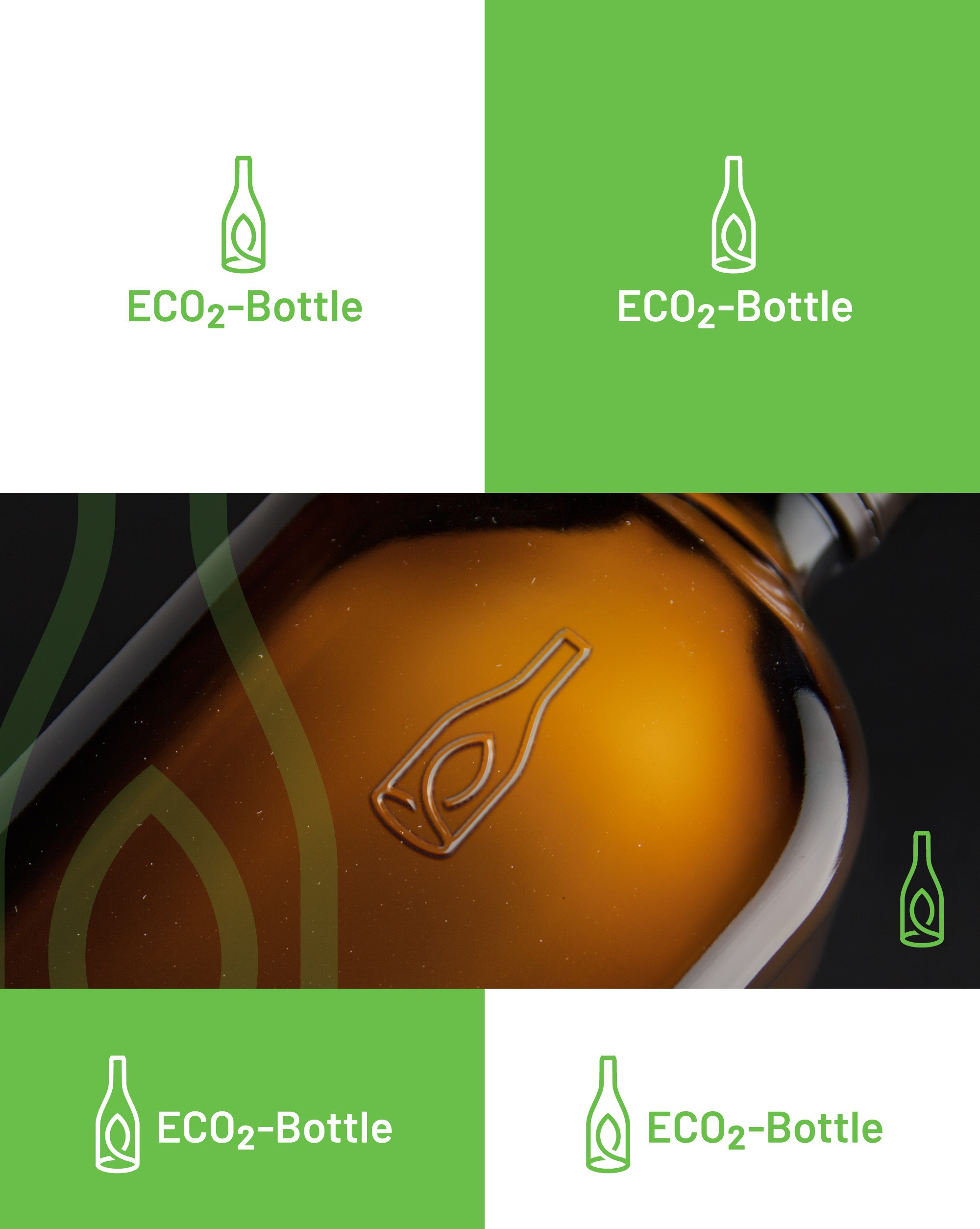 The greener glass - create a logo for the bottle of tomorrow