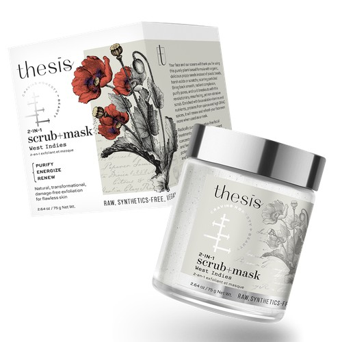 Thesis beauty, Organic, vegan, sustainable beauty line