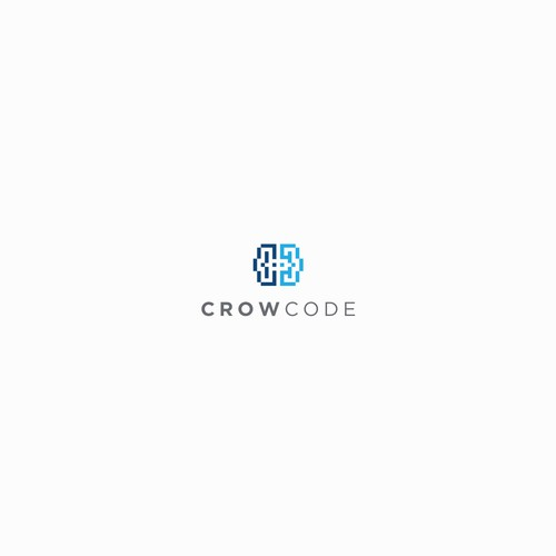 CrowCode Logo Concept