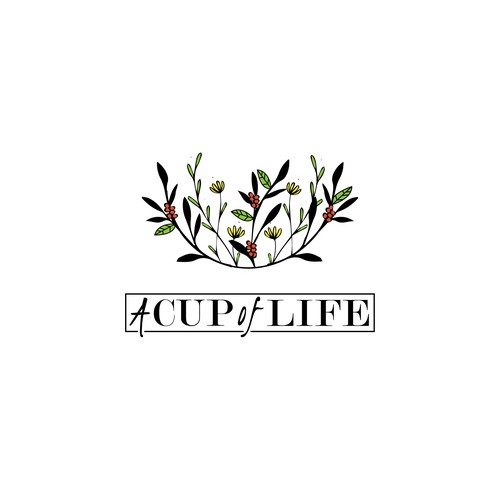 Coffee Shop Logo - A Cup of Life