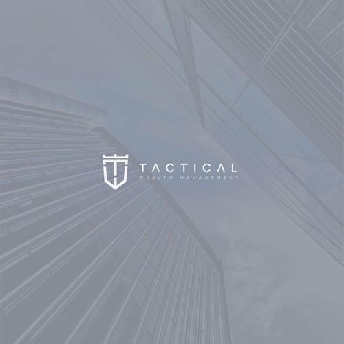 Financial logo design for Tactical Wealth Management