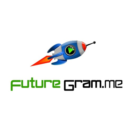 Logo for a new social media trend: FutureGram.me!