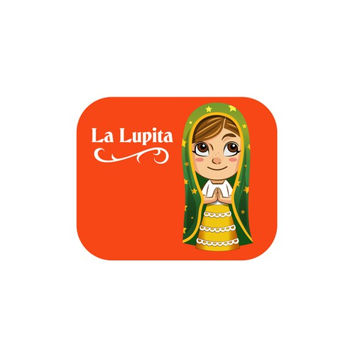 A doll design to celebrate La Lupita for Holy Week