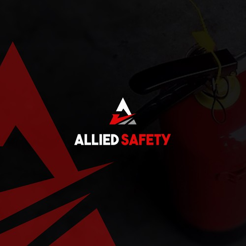 Logo for allied safety
