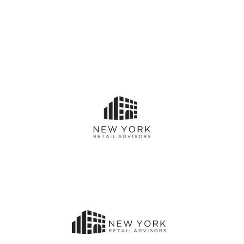 Logo for Real Estate Firm Specializing in Retail Space