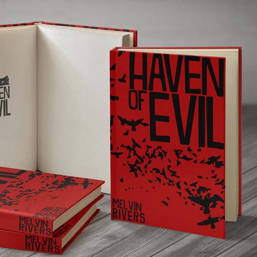 Haven of Evil horror book cover