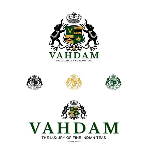 Emblem for luxury Indian teas