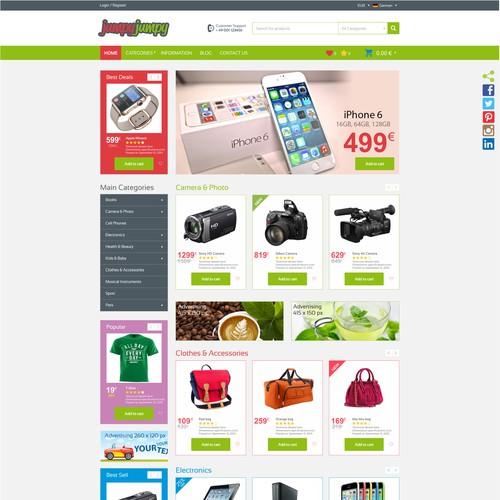 Website: Online Shop