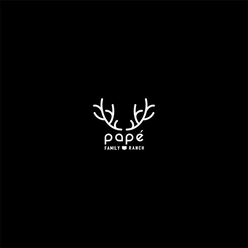 Smart   deer logo for family ranch