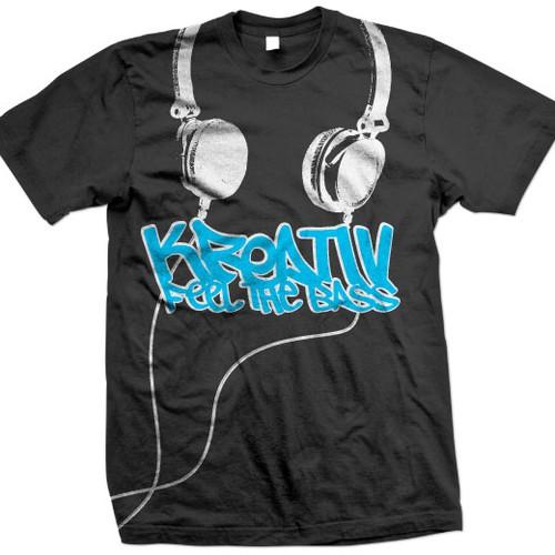 dj inspired t shirt design urban,edgy,music inspired, grunge