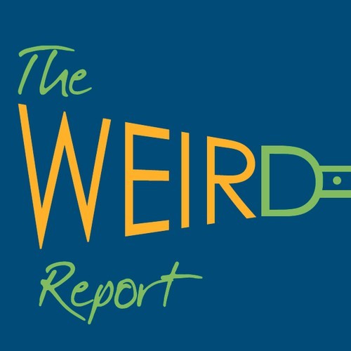 Fun Campaign Designing Logo for Quirky Business Newsletter: The Weir/d Report