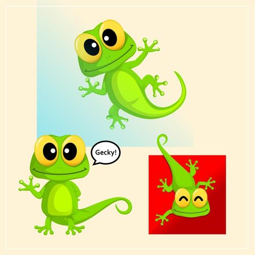 Mascot Design for Gecko Blocks
