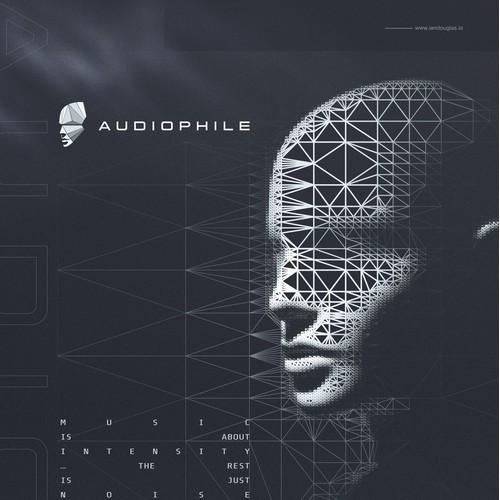 Futuristic mark for Audiophile Music Group