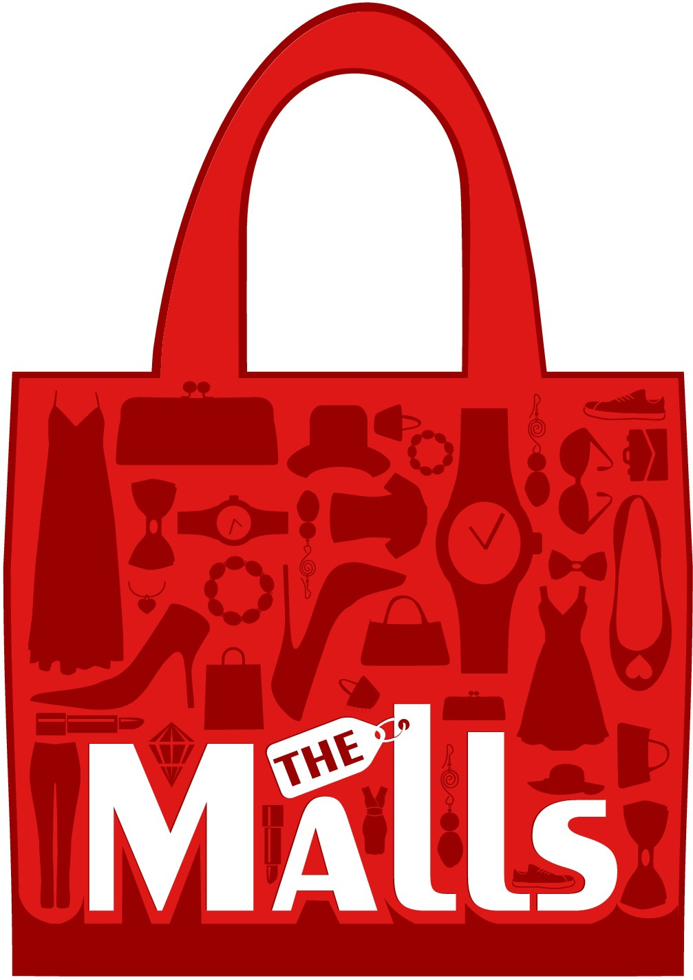 Create a simple and creative logo for our online retail website (THE MALLS) !