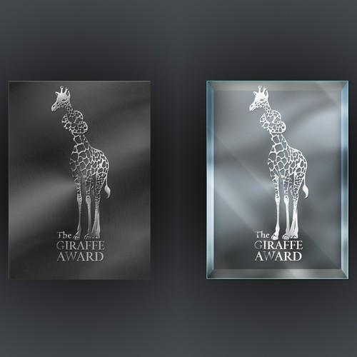 """Giraffe Award"" design"