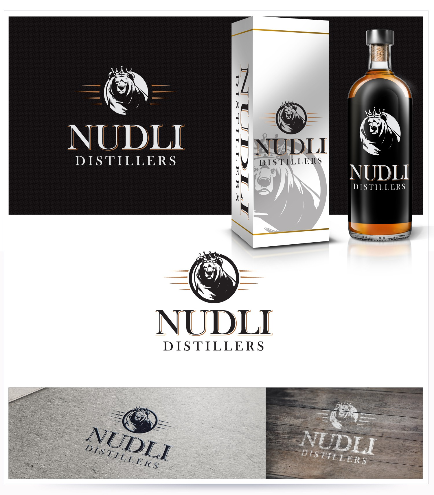 Awesome needed! Create a brand logo for a new craft, micro-distillery.