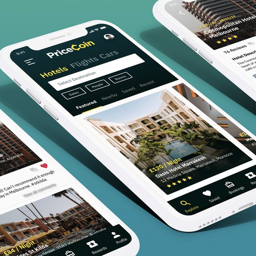 Pricecoin App Design