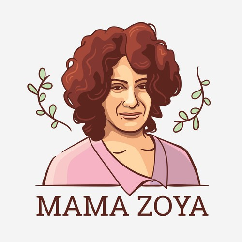 Mama Zoya illustrated logo