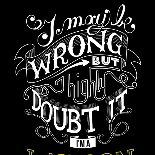 Lettering for a T-shirt