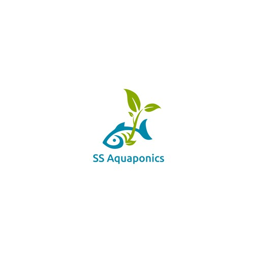 Logo design fo Aquaponics