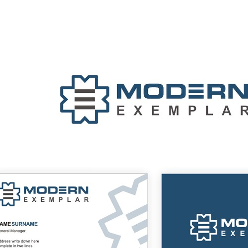 Logo & Business Card design for Modern Exemplar
