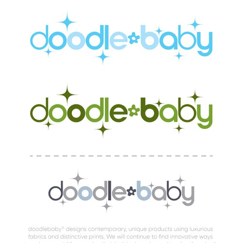 A stylish new Baby Product needs a stylish LOGO