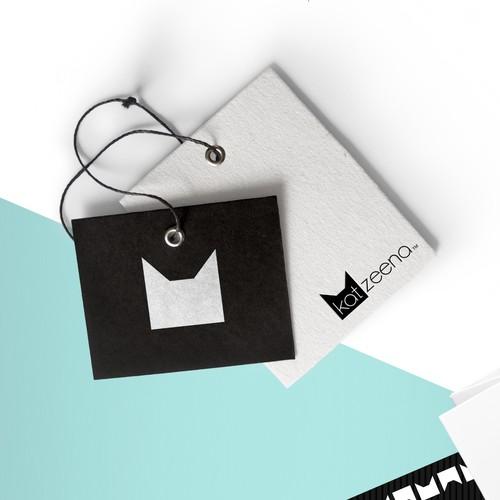 Minimal Simple Cat Logo