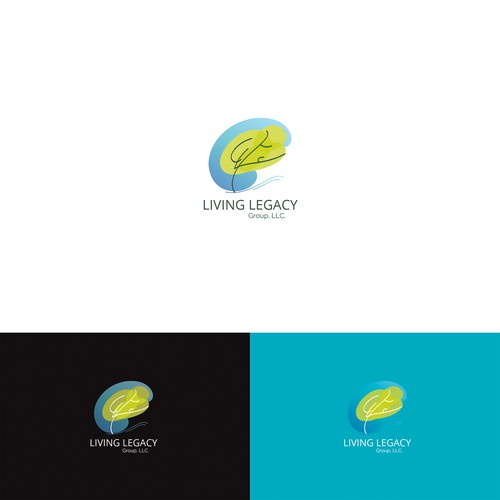 Logo design concept for financial Investment company.