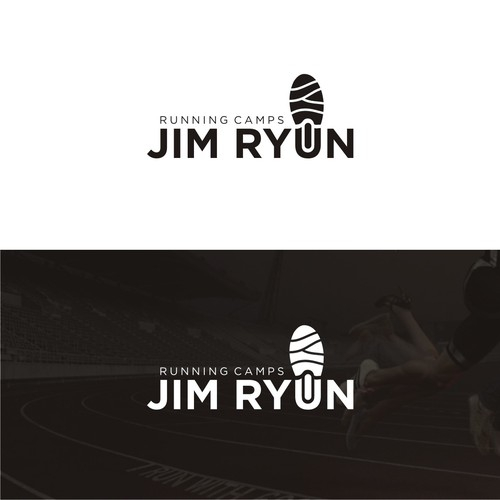 Logo for premier youth running camp in the United States
