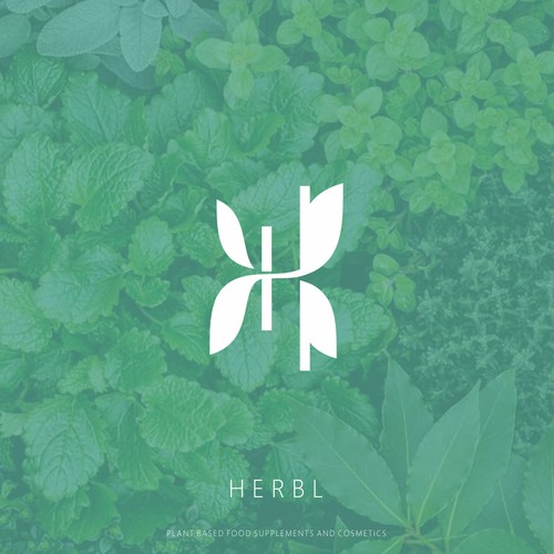 H Leaf Logo with a different finish