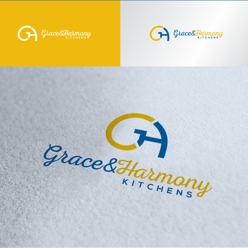 Mindfulness? Matisse? More GH? Logo for a kitchen design and installation company