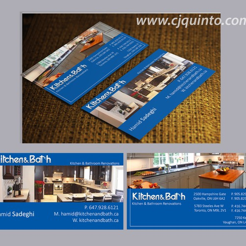 Business Card with Photos