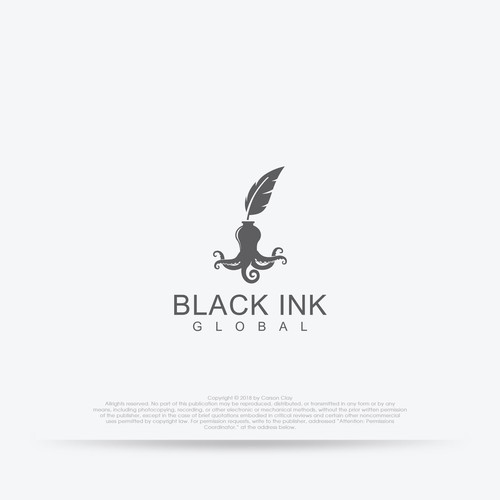 Black Ink logo concept