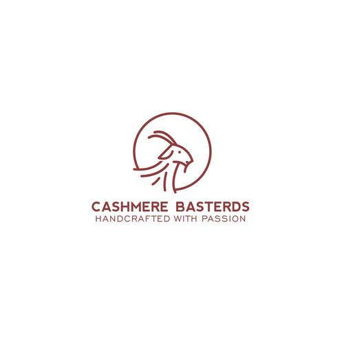 Cashmere Goat logo concept