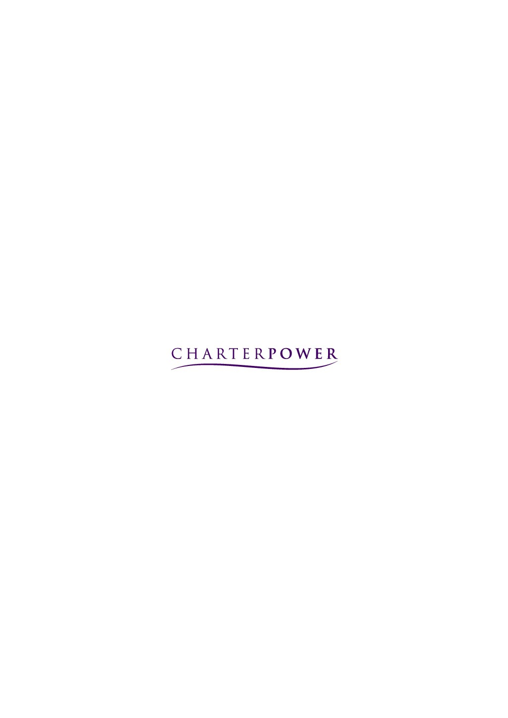 CHARTER POWER - disruptive approach to traditional industries