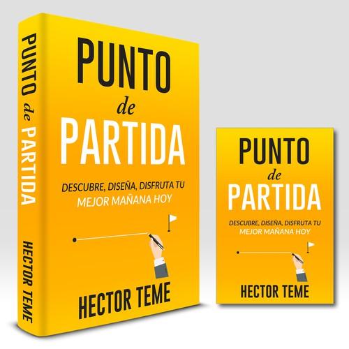"powerful design for powerful book ""Punto de Partida"""""