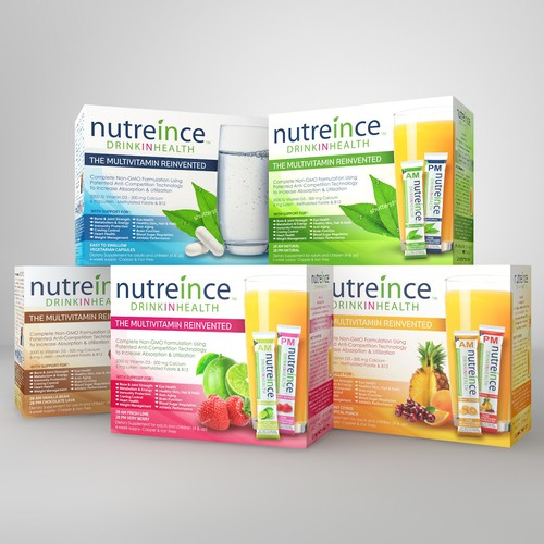 Nutreince Multivitamin product line