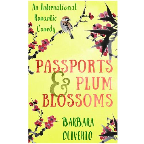 Book cover for a romantic comedy