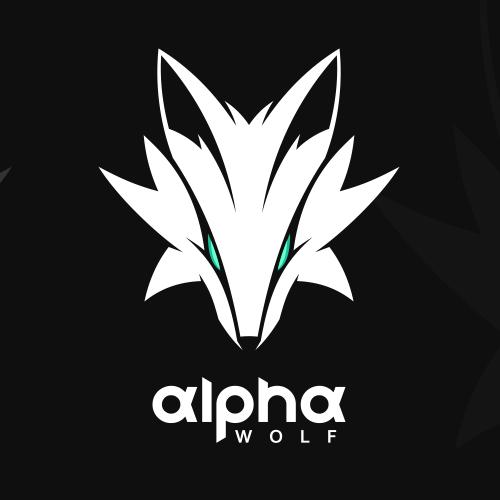 WolfHead Logo design